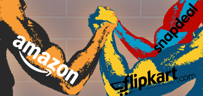 Battle of E-Commerce Giants - A Satire
